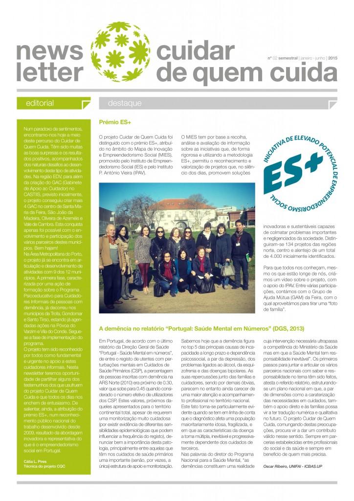newsletter cqc nº2 frente